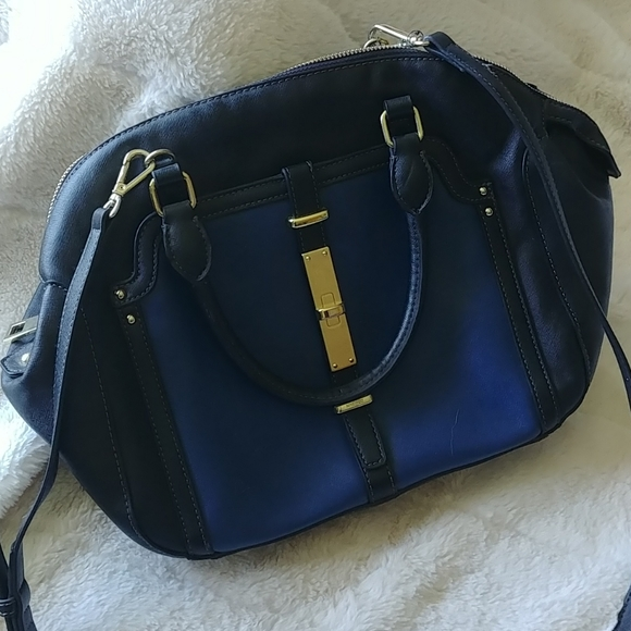 Nine West blue and black purse